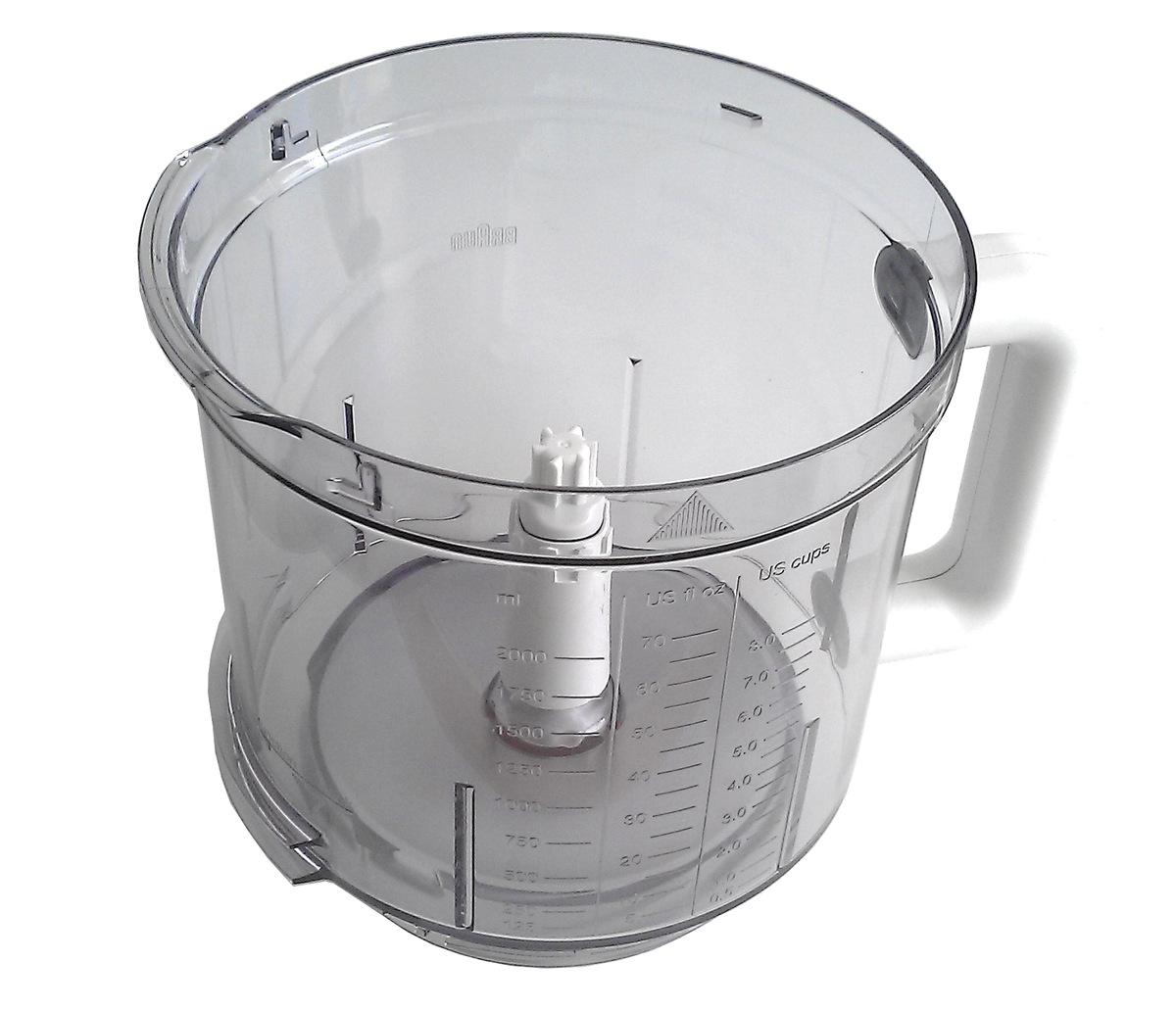 Чаша Основная Для Кухонного Комбайна Braun CombiMax K600, K650, K700, K750, CH600, SJ600, PJ600, CW600.